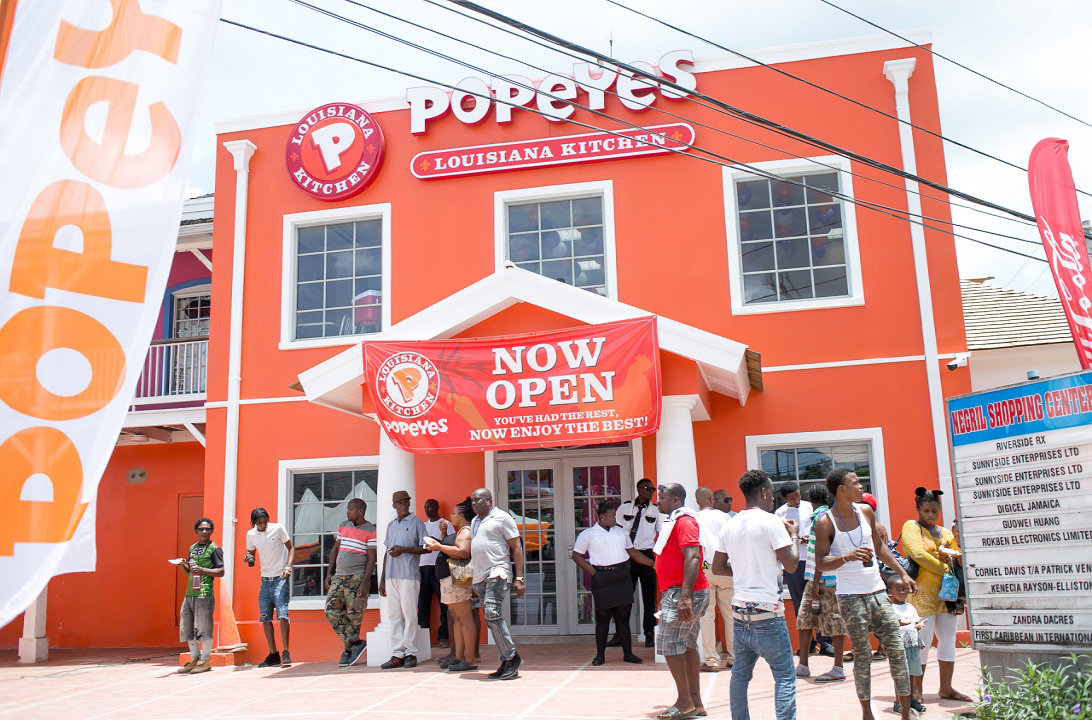 Popeyes & Little Caesars Open in Negril